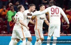Galatasaray ligde 4 maç sonra kazandı