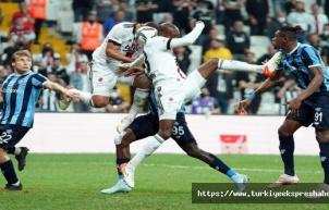 Süper Lig: Beşiktaş: 3 - Adana Demirspor: 3